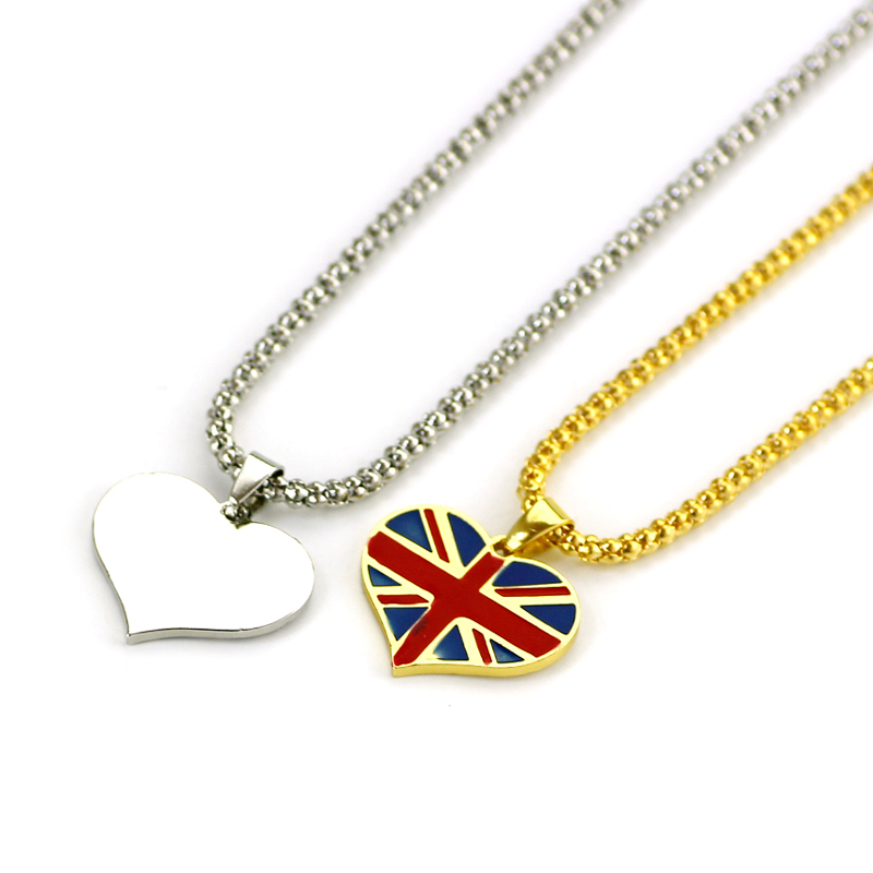 jewelry pendant silver flag itm american necklace chain cage stainless beads