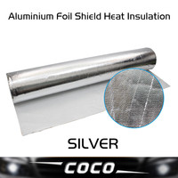 100CM*1460CM High Reflectivity construction radiant barrier Aluminium Foil Shield Heat Insulation environmental protection