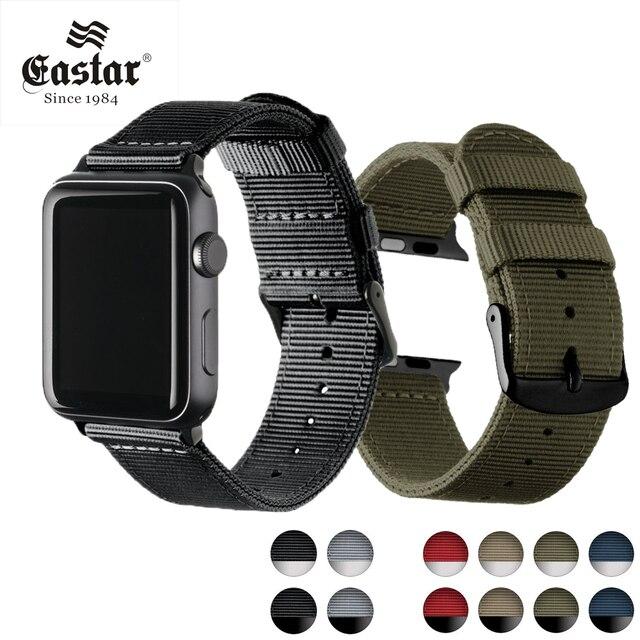 Eastar легкий дышащий водостойкий нейлоновый ремешок для apple watch группа 42 мм 38 мм для iWatch serise 3 2 1 ремешок для часов Спортивная петля