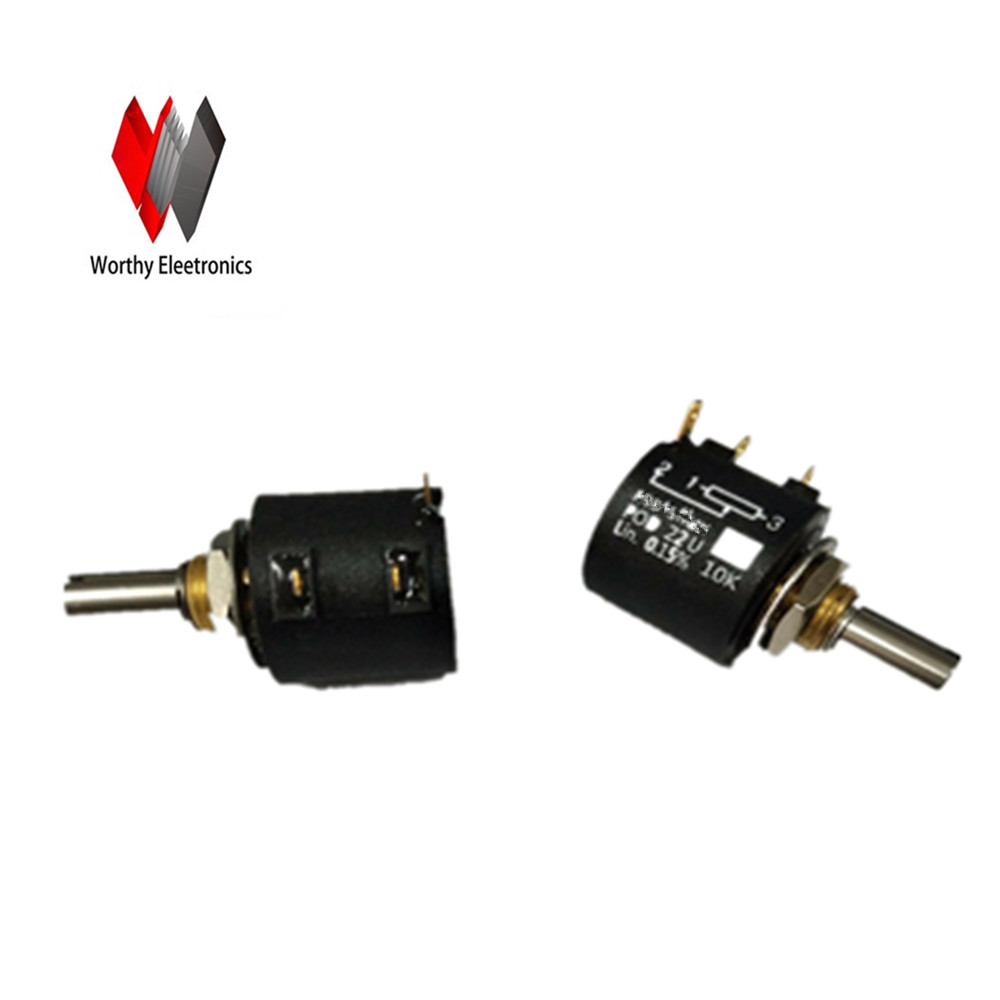 Free shiping crane sensor potentiometer 10K pod22u spanish two tone double potentiometer 10k 50k