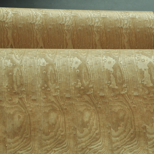 Image 4 - قشرة خشب رماد مجسمة تامو مع ظهر ورق حرفي