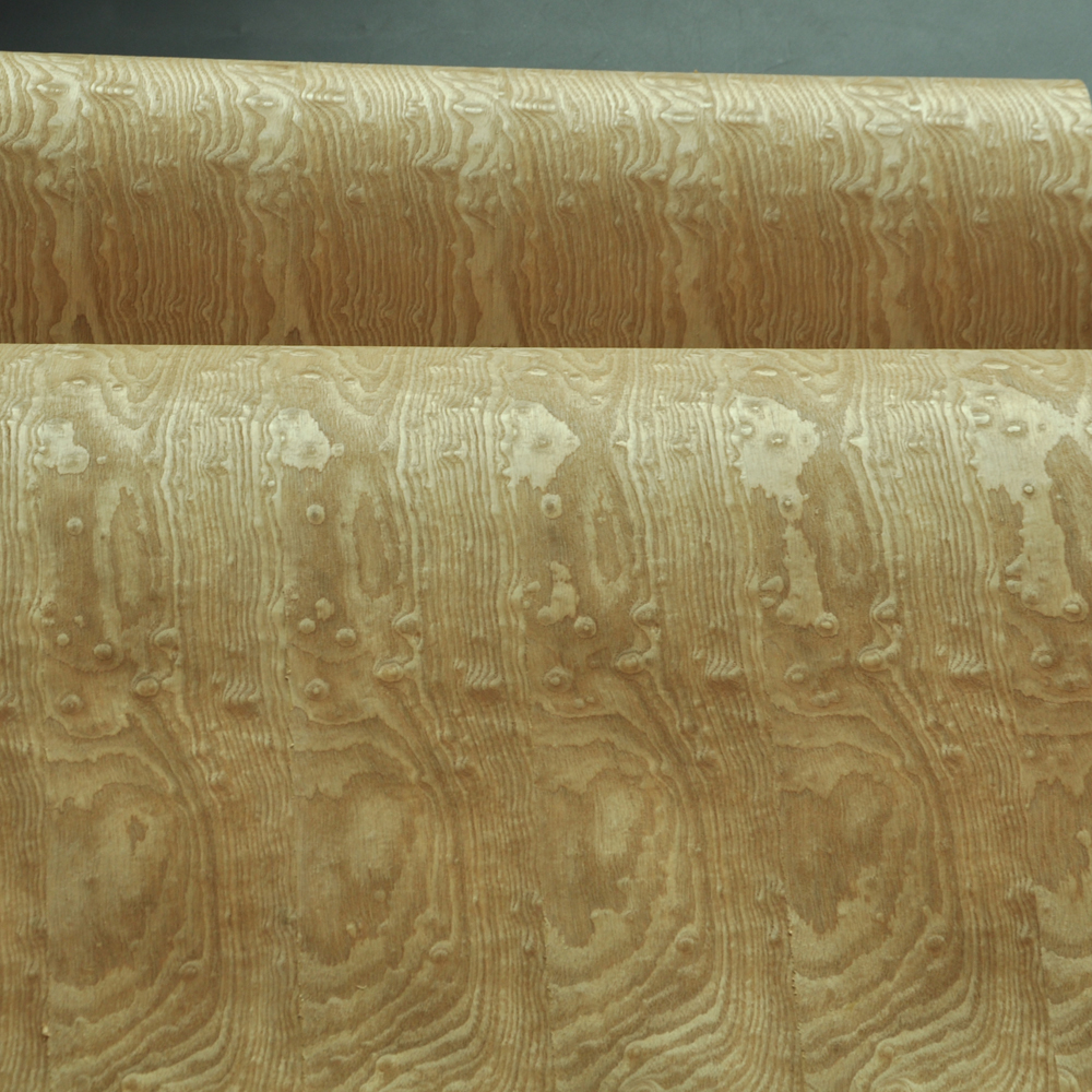 Image 4 - Tamo Figured Ash Wood Veneer with Craft Paper Back-in Furniture Accessories from Furniture