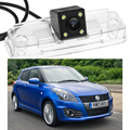 1PCS Rear Color View Reversing Parking Camera LED with license plate For Suzuki Swift 2006-2010