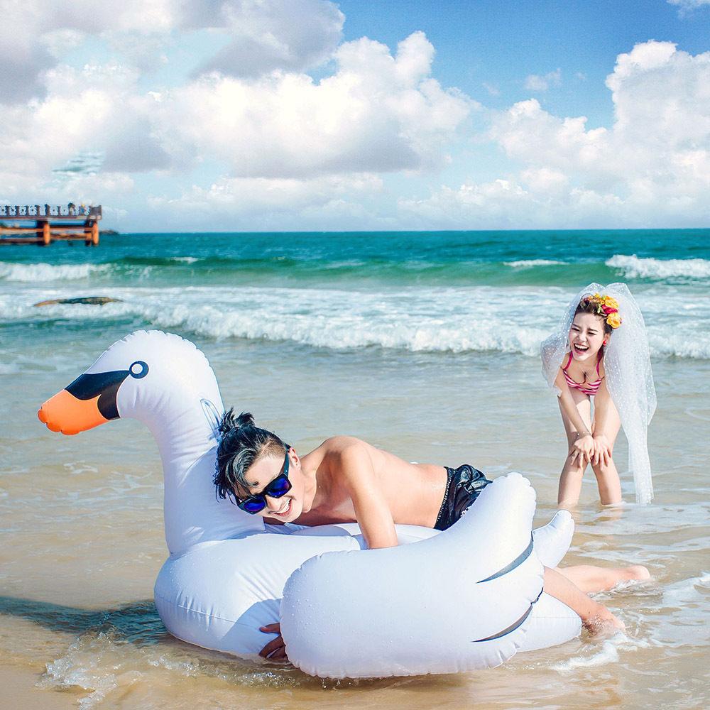 Надувная Фламинго жүзу бассейні Float - Су спорт түрлері - фото 2