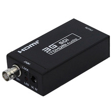 HDMI SDI Converter 3G Full HD 1080P SDI to HDMI Adapter Video Converter with Power Adapter for Driving HDMI Monitors