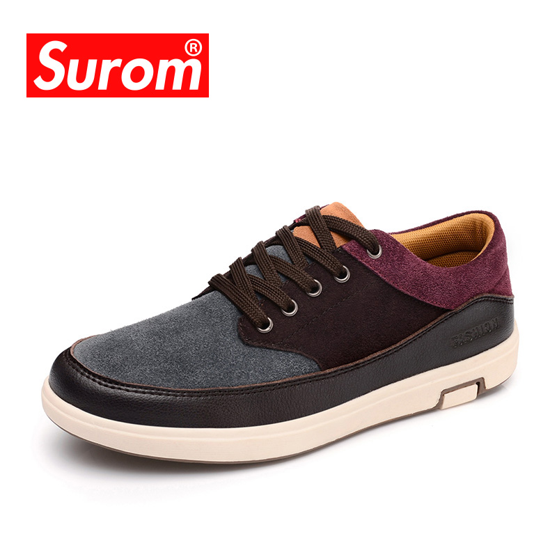 2017 Men's Leather Casual Shoes Suede Moccasins Men Loafers Patchwork Color Brand Male Shoes Chaussure Homme zapatos hombre cbjsho brand men shoes 2017 new genuine leather moccasins comfortable men loafers luxury men s flats men casual shoes