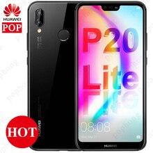 Globale Firmware Huawei P20 Lite Nova 3e Smartphone 5,84 zoll 4GB 64GB/128GB Kirin 659 Octa core Android 8,0 Gesicht ID Fingerprint