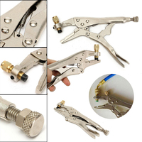 New Air Conditioner Pilers Refrigerant Recovery Tube Locking Plier Welding Hand Tools
