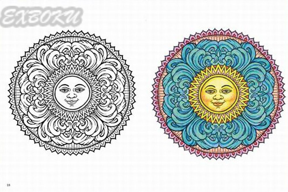 Mysterious Mandala Coloring Book For Adults Children Relieve Stress Secret Garden Art Painting Books New Design In From Office School