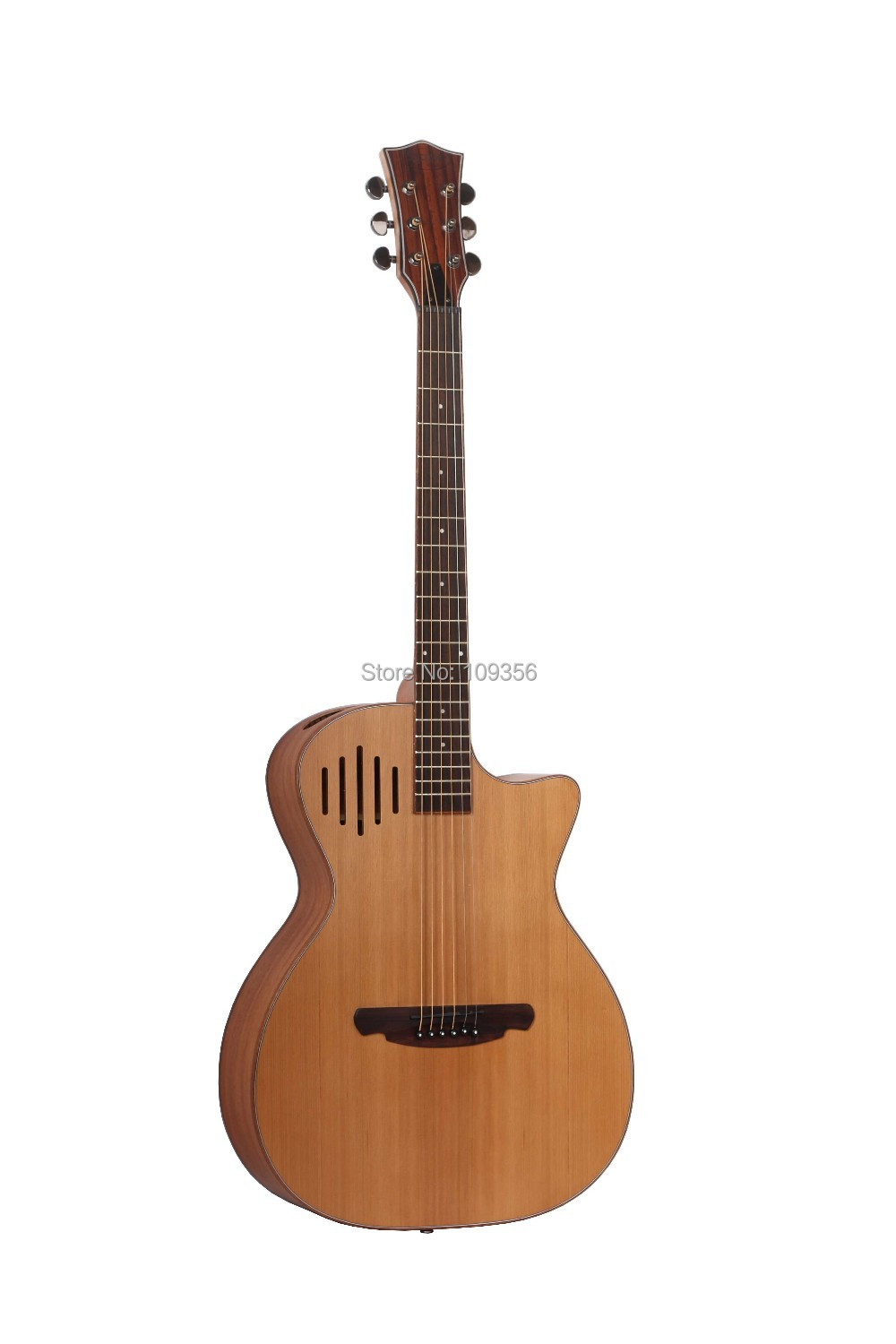 upright hole panel  acoustic-electric guitar 4 brand visiable EQ high quality new style sound very good