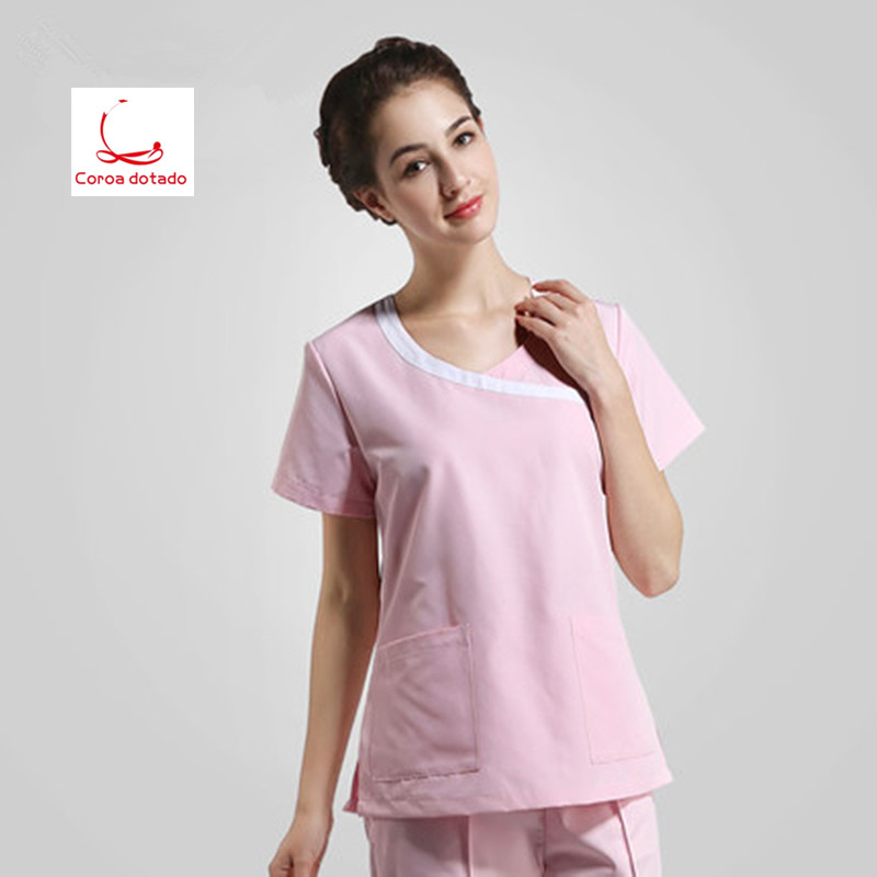 Operating room women short sleeved hand washing clothes separate body set washing clothes in Scrub Sets from Novelty Special Use