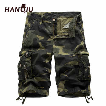 2019 Military Camo Cargo Shorts Summer Fashion Camouflage Multi-Pocket Homme Army Casual Shorts Bermudas Masculina - DISCOUNT ITEM  53% OFF All Category