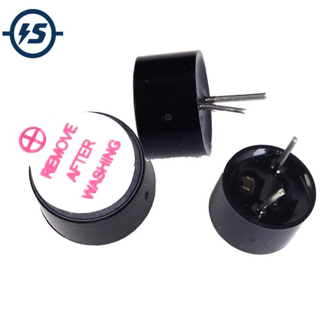 US $1 45 |10pcs 3V 3 3V Mini Active Buzzer Alarm Sound Speaker 9 * 5 5mm  Continuous Beep Small 9 x 5 5mm Remove After Washing-in Integrated Circuits