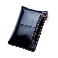 YGDB Brand Fashion Women Coin Purse Genuine Leather Ladies Wallet Card Pack Small Zipper Phone Bag Pouch LQ008