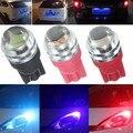 DC 12 V T10 W5W 168 194 5630 2SMD 0.8 W Auto Del Coche LED Número de Placas de Cuña Luz de La Lámpara de los Bulbos Puro Blanco/Rosa/Azul/Rojo/Azul Hielo