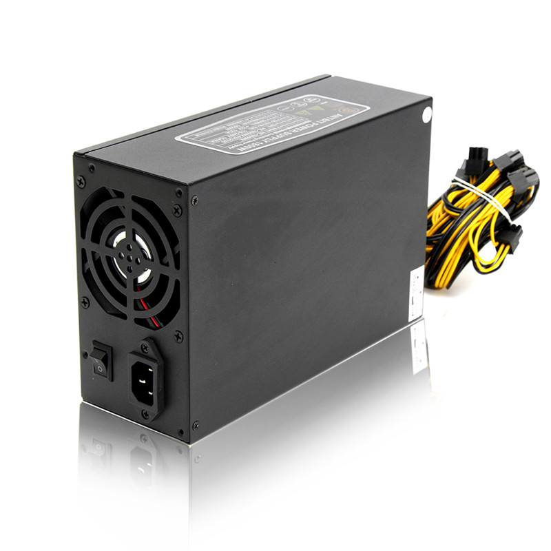 High Quality 1800W Power Supply for Server Miner Machine Power Supply For 6 GPU ETH BTC