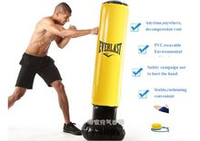 Sport Fitness Entertainment Adult Children Inflatable Tumbler Sandbag Boxing Column Vent Thickened Punching Bag Free Gift
