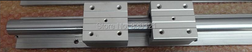 low price for China linear round guide rail guideway SBR12 rail 1000mm take with 2 block slide bearings low price for china linear round guide rail guideway tbr20 rail 500mm take with 3 block slide bearings
