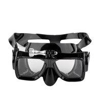 4bdfe6c1b SEWS Camera Mount Tempered Glass Lens Adult Dive Underwater Diving Face  Mask Scuba Snorkel Swimming Goggles. Ver Oferta. Crianças Profissional de  Mergulho ...