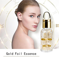 New Gold Foil Essence Whitening Serum Hyaluronic Acid 24kt Gold The Best Anti Ageing Wrinkle Oil Control Face Care For All Skin Beauty Tools