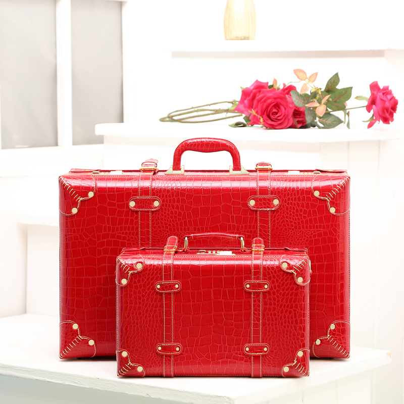 Online Get Cheap Red Vintage Suitcase -Aliexpress.com | Alibaba Group