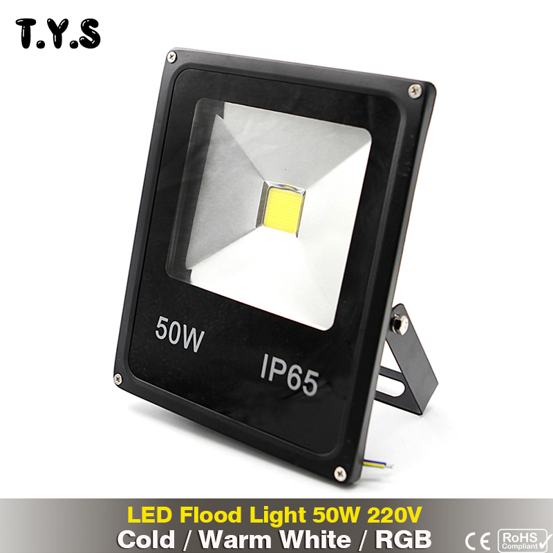 RGB 50w led flood light Waterproof Spotlight Street foco led exterior 220v Warm Cold White outdoor led floodlight lighting lamp цена