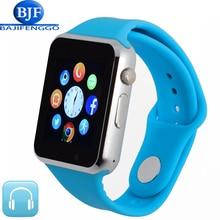 Hombres mujeres smart watch para android bluetooth podómetro deporte apoyo whatsapp smartwatches para samsung cámara gt08 dz09 a1 gt88