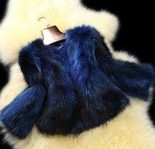 Free shipping new Genuine real natural raccoon Fur Coat women s Jacket winter fur waistcoats Colorful