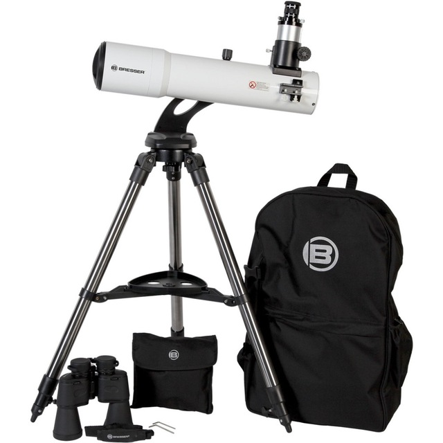 Cheap PACKAGE DEAL! BRESSER COMET EDITION 102MM REFRACTOR Telescope KIT