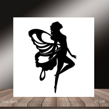 AZSG Beautiful Angel Clear Stamps/Stamp/For Scrapooking/Card Making/Silicone Stamps/Decoration Crafts
