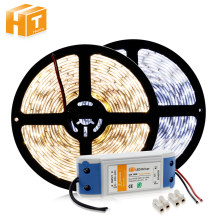 LED Strip 5630 12V 60 LED/M Putih/Warm White/Putih Dingin 5M Dekorasi Rumah lampu + DC12V 3A Driver(China)