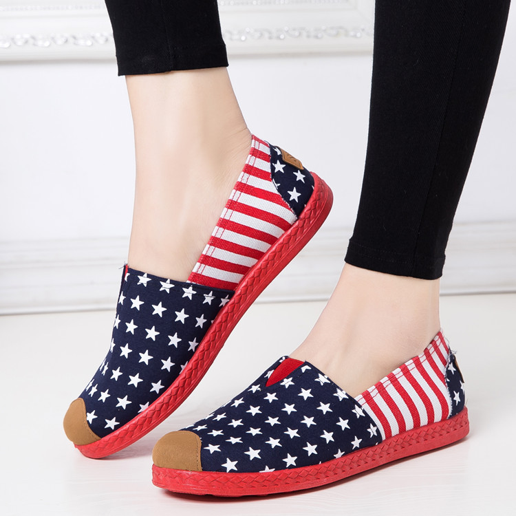 New Women's Fashion Espadrilles Slip-on Boat Flat Flats Fisherman Weave Casual Canvas Loafers Oxford Lazy Woman Shoes women and men s casual flat shoes loafers fisherman espadrilles boat shoes men lazy hemp rope weave shoes size 35 45