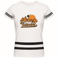 スター·ウォーズへようこそタトゥイーン大人レディースtシャツカスタムパーソナライズロゴtシャツ新しいファッションブランドレディースコットンtシャ