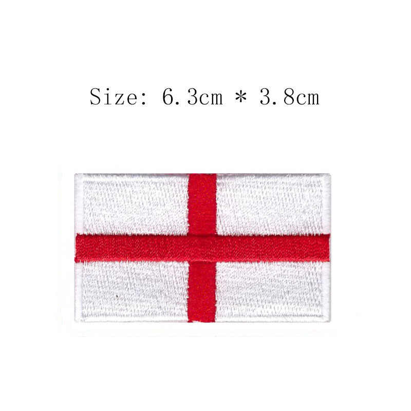 England embroidery flag patch London city emblem Wholesale price free shipping iron on sew on left chest for clothing sleeve