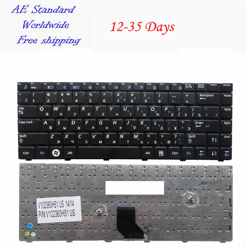 RU FOR SAMSUNG R518 R520 R522 R550 R513 R515 laptop keyboard Russian New Black цена