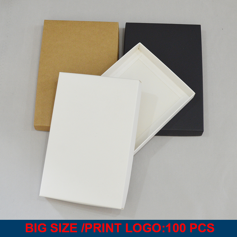 10pcs Big Gift Box Packaging Lid Kraft Packaging Box Personalisation Custom Packaging Box Paper Custom Boxes With Logo