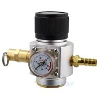 Sodastream CO2 Mini Gas Regulator CO2 Charger Kit 0 90 PSI corny cornelius keg charger for European Soda stream Beer Kegerator