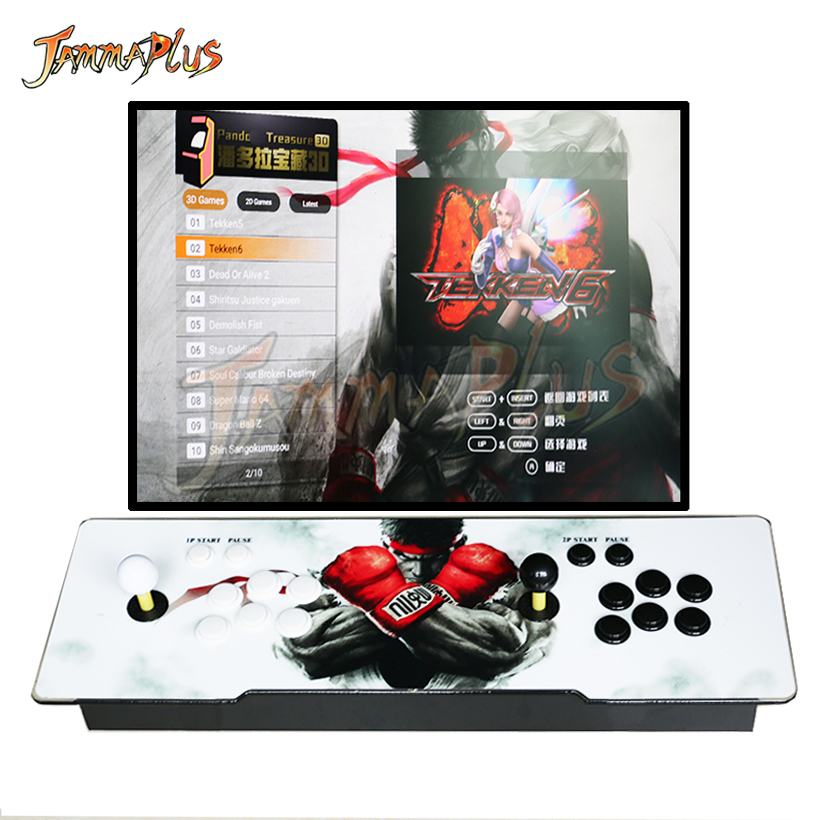 Set Joystick Koreanisch Arcade 1 Player Birne Schaltflächen Amerikaner Gelb Mame Low Price Spielzeug