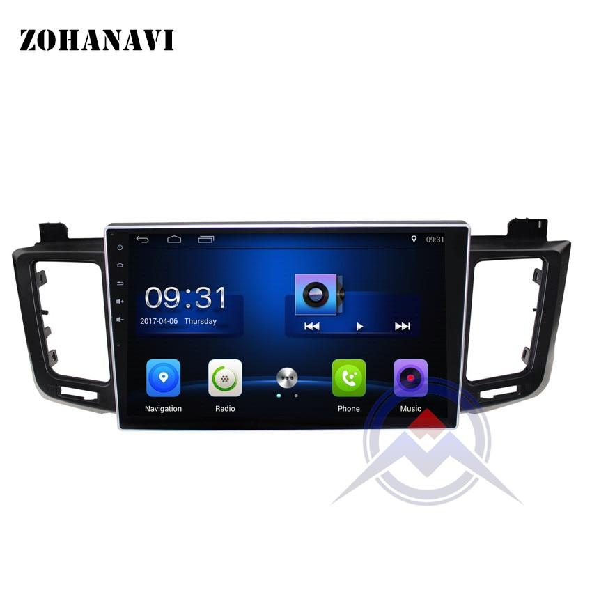 ZOHANAVI 10 2 inch Android Car DVD Player for Toyota RAV4 RAV 4 2013 2014 2016