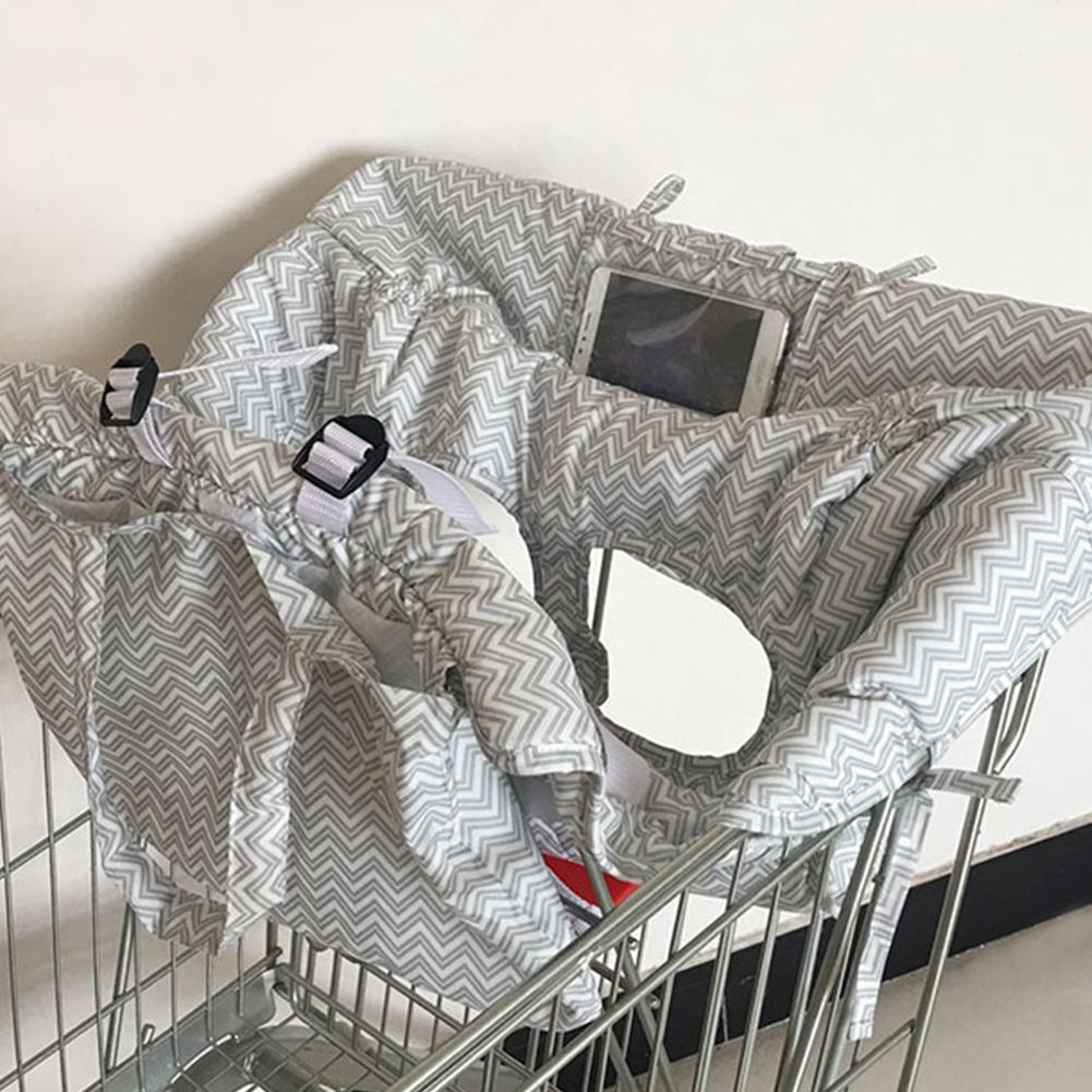 Foldable Baby Shopping Cart Baby Seat Cover Protection