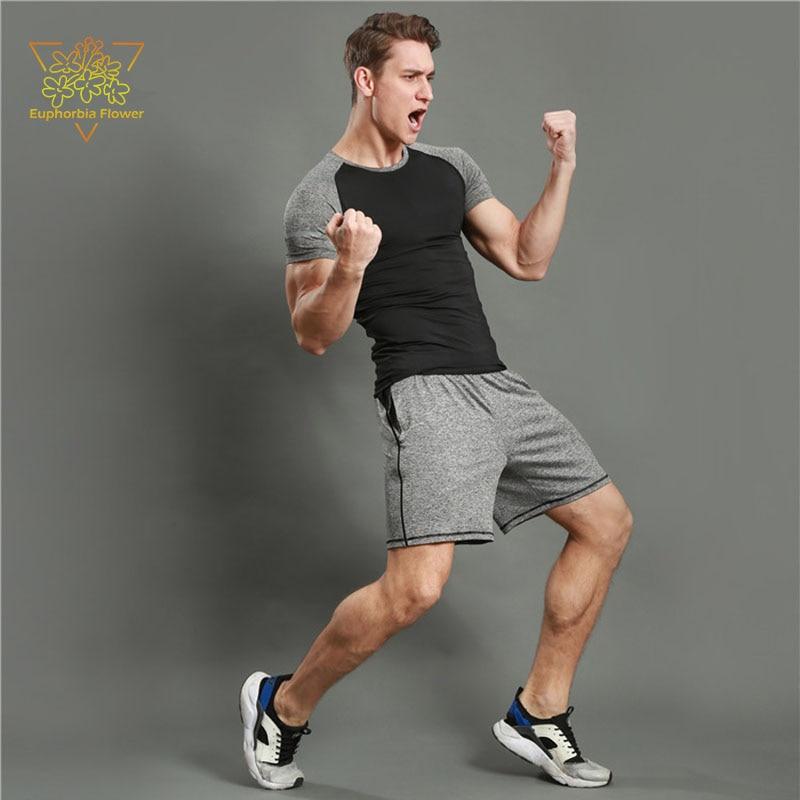 JSPD12019 Pantallona të shkurtra për burra 2 Rripa tërheqës xhepi - Veshje sportive dhe aksesorë sportive - Foto 5