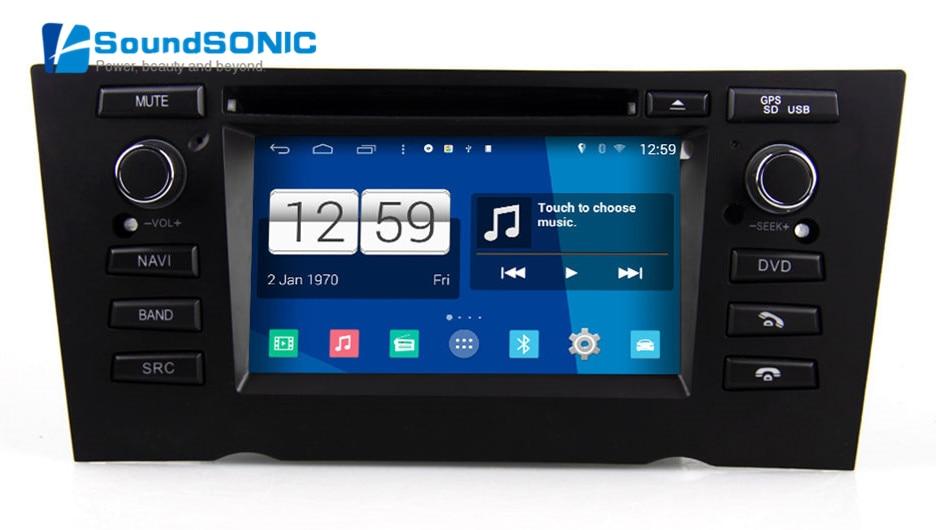 s160 quad core android 4 4 4 autoradio gps navi multimedia. Black Bedroom Furniture Sets. Home Design Ideas