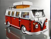 21001 Volkswagen T1 Camper 21002 Cooper 21046 Aston Martin and Train Model Technic Building Blocks Brick Toys Compatible legoing