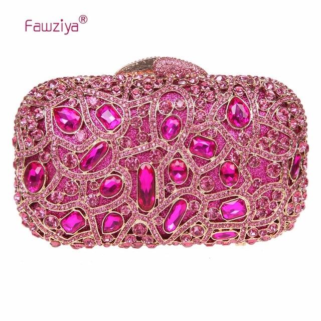 Fawziya Bling Evening Clutch Purse For Wedding Handbags S