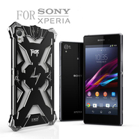 Simon Thor Series Aviation Aluminum Metal Phone Cases Strong Protection For SONY Xperia Z1 Z2 Z3
