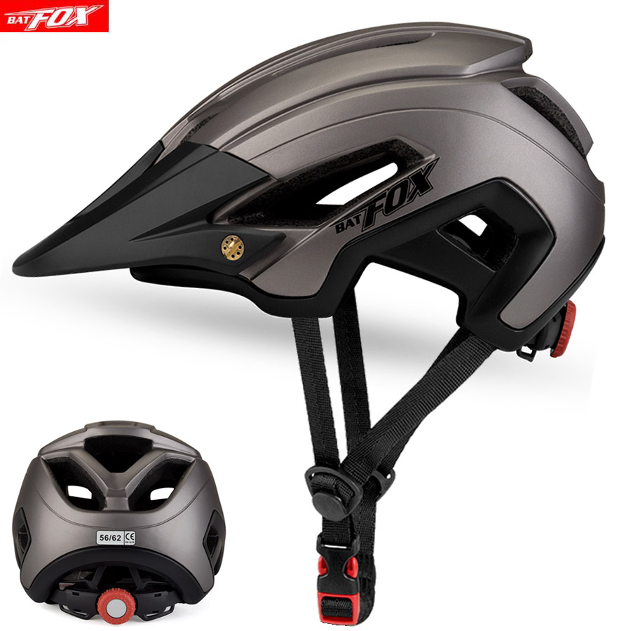 BATFOX Men Road Mountain Bike Helmet Capacete Da Bicycle Helmet Mtb Cycling Helmet