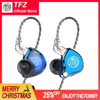 T2, TFZ NICEHCK Hifi Monitor Earphones, Bass Sound Earphone In Ear Sport Game Headphone, 3.5mm Earbuds for Christmas gift