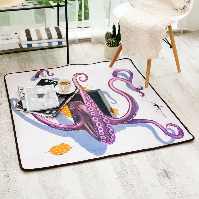 Chenille carpet 3D digital Cartoon Print super soft carpets Living room sofa coffee table bedroom Floor Mat Rugs Bedside blanketChenille carpet 3D digital Cartoon Print super soft carpets Living room sofa coffee table bedroom Floor Mat Rugs Bedside blanket