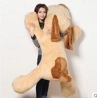 Огромный плюшевые брехливая собака игрушка супер большой shapi собака подушка кукла подарок около 150 см
