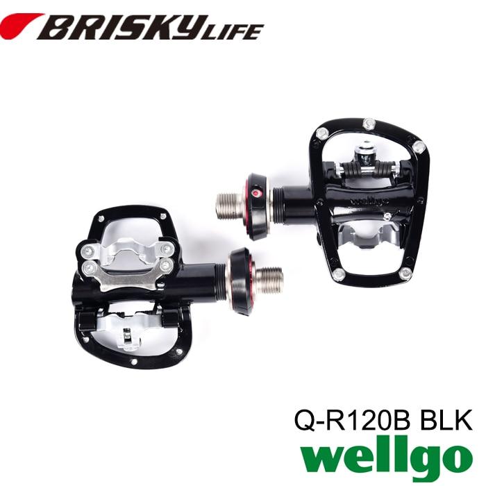 Wellgo pedaler QR-120B med gratis frakt sykkelpedaler av høy - Sykling